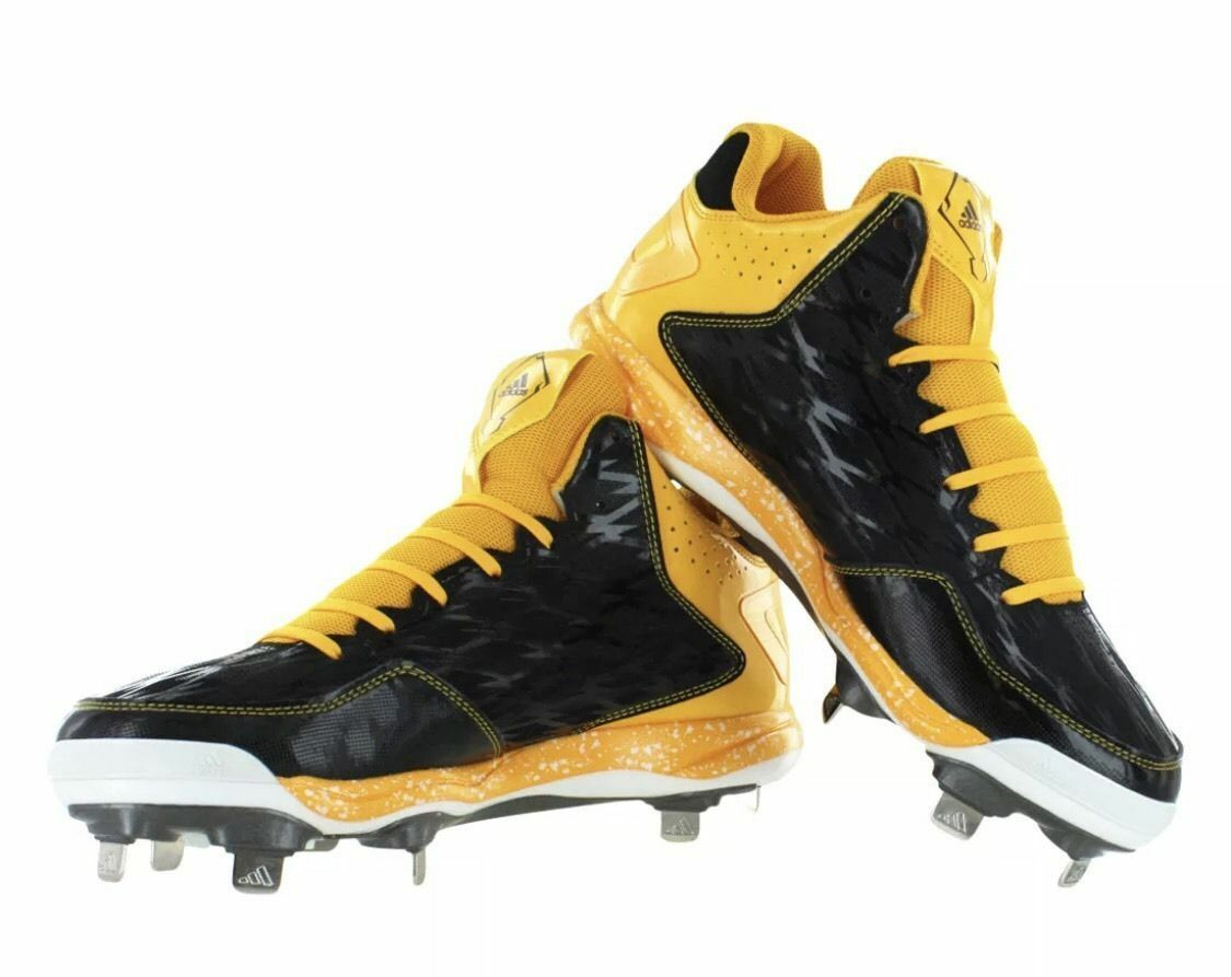 Adidas Men's Power Alley 2 Mid Metal Baseball Softball Cleats Save Price reduction Cheap women's shoes women's shoes