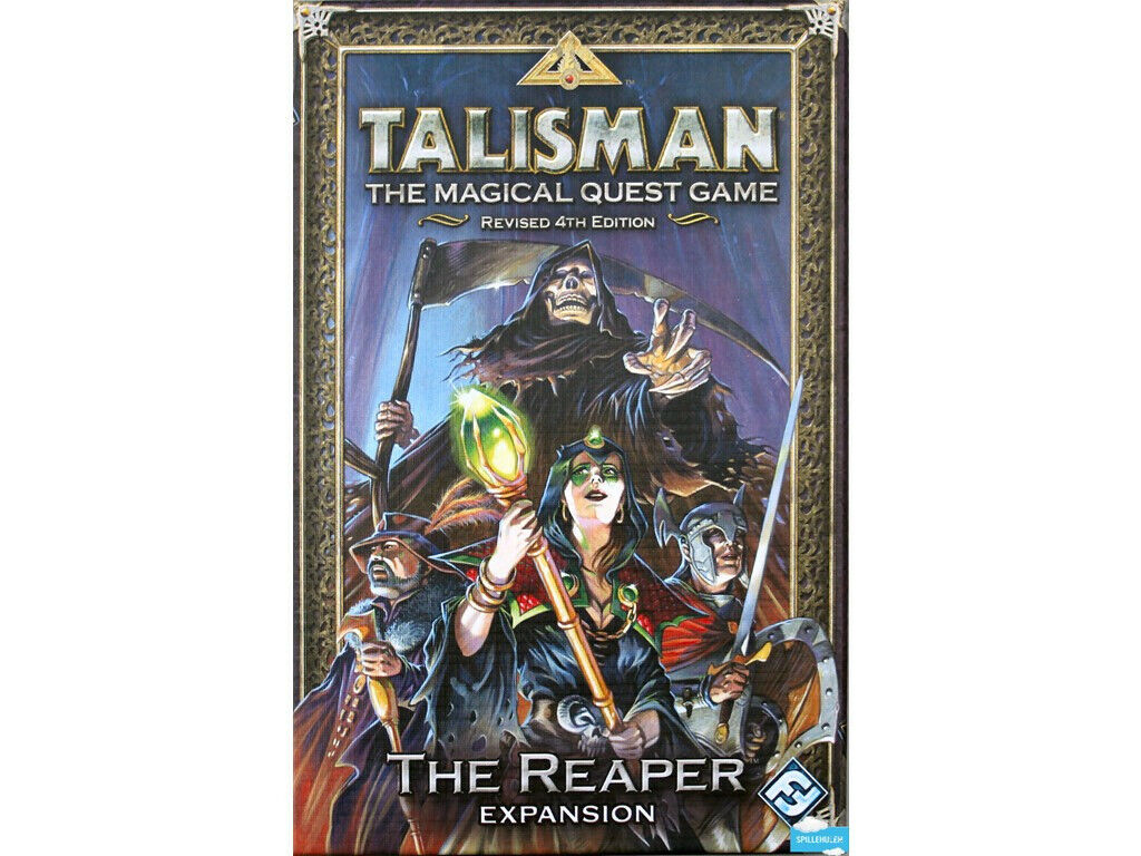Talisman Revised 4th Edition Reaper Expansion Board Game
