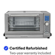 Cuisinart TOB-135FR-RB Convection Toaster Oven Broiler - Certified Refurbished