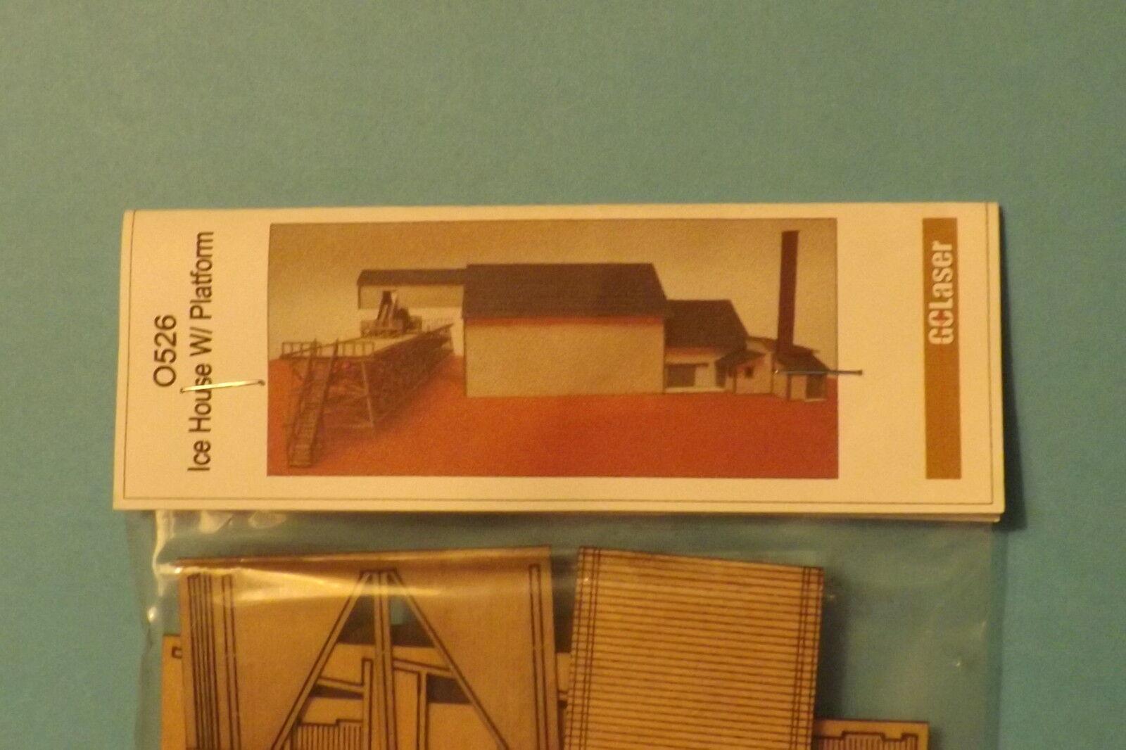 ICE HOUSE W PLATFORM KIT KIT KIT N SCALE by gc laser de913d