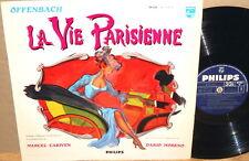 """PHILIPS FRANCE """"La Vie Parisienne"""" OPERA CARIVEN MORENO Doria Gabriel P 77.107 L"""
