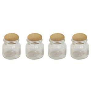 1-12-Scale-Dollhouse-4Pcs-Miniature-Candy-Food-Jar-Kitchen-Decoration-V3W8