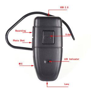 4gb bluetooth earphone headset mini spy hidden camera video audio recorder dv ebay. Black Bedroom Furniture Sets. Home Design Ideas