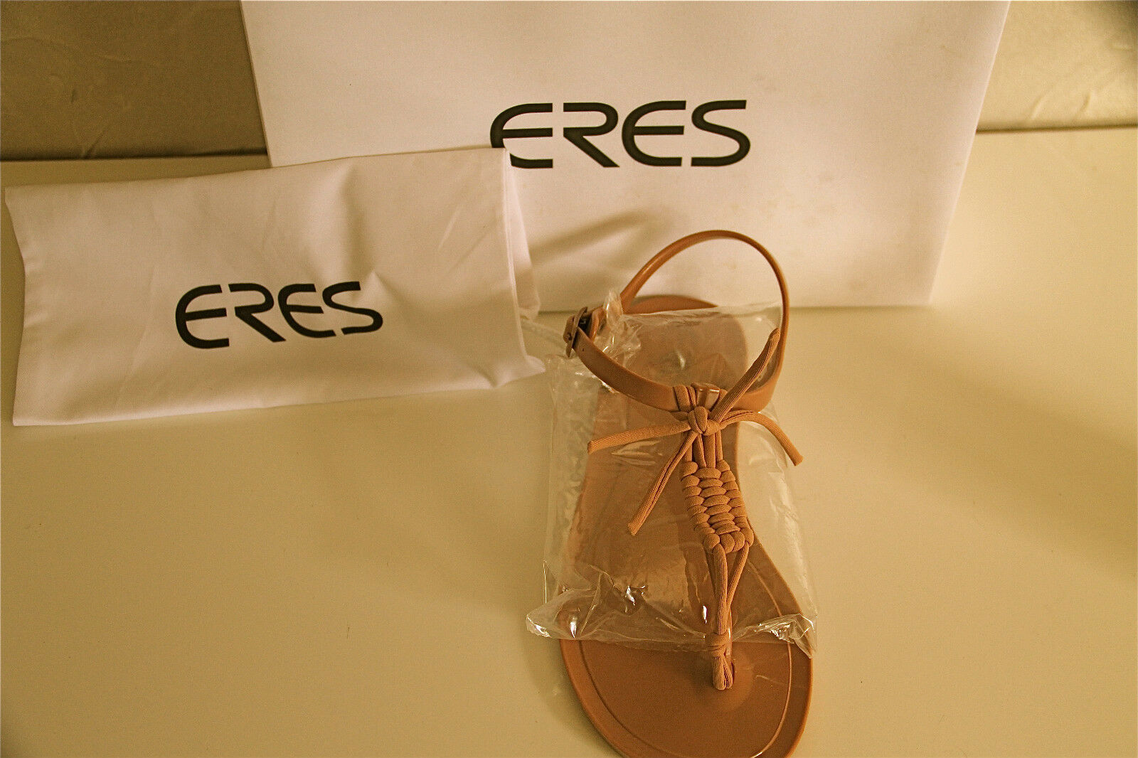 Bare sandals feet ERES gypsy size 36 eu 5,5 us 3 uk NEW BOXED val