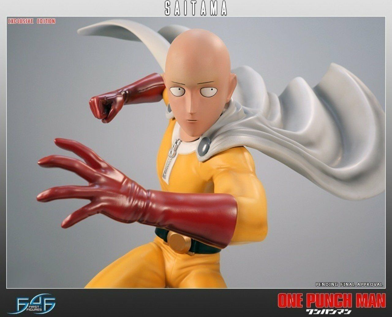 First 4 Figures  One Punch Man - Saitama (Exclusive) .Available February 2018