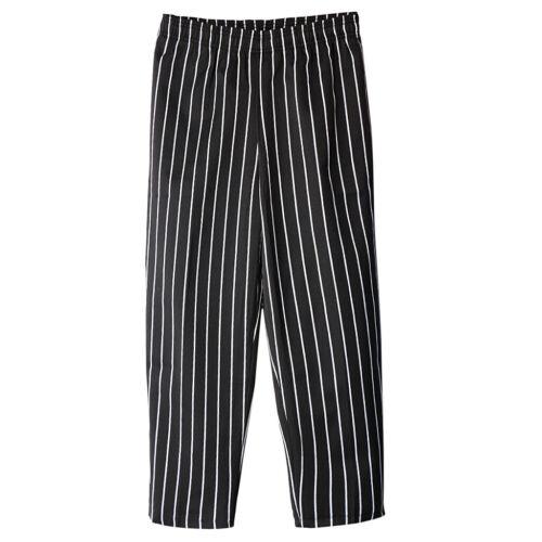 Unisex Pantaloni da chef Cuoco Ristorazione da Lavoro Più Dimensioni