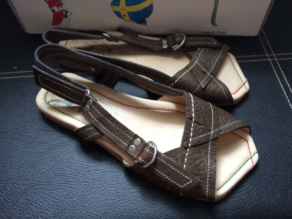 Runner Bean Sandals Fever - Choc Dublim Size 36 Uk 3