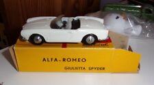 Vintage 70s METOSUL 3 ALFA ROMEO GIULIETTA SPYDER  BOITE  Portugal SUPERBE 1/43