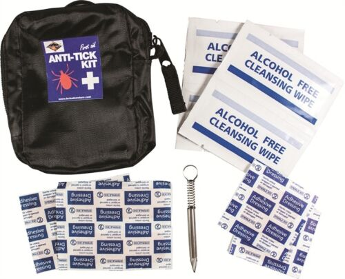 BCB Hikers removal tool first aid Kit with pouch walkers Anti Tick
