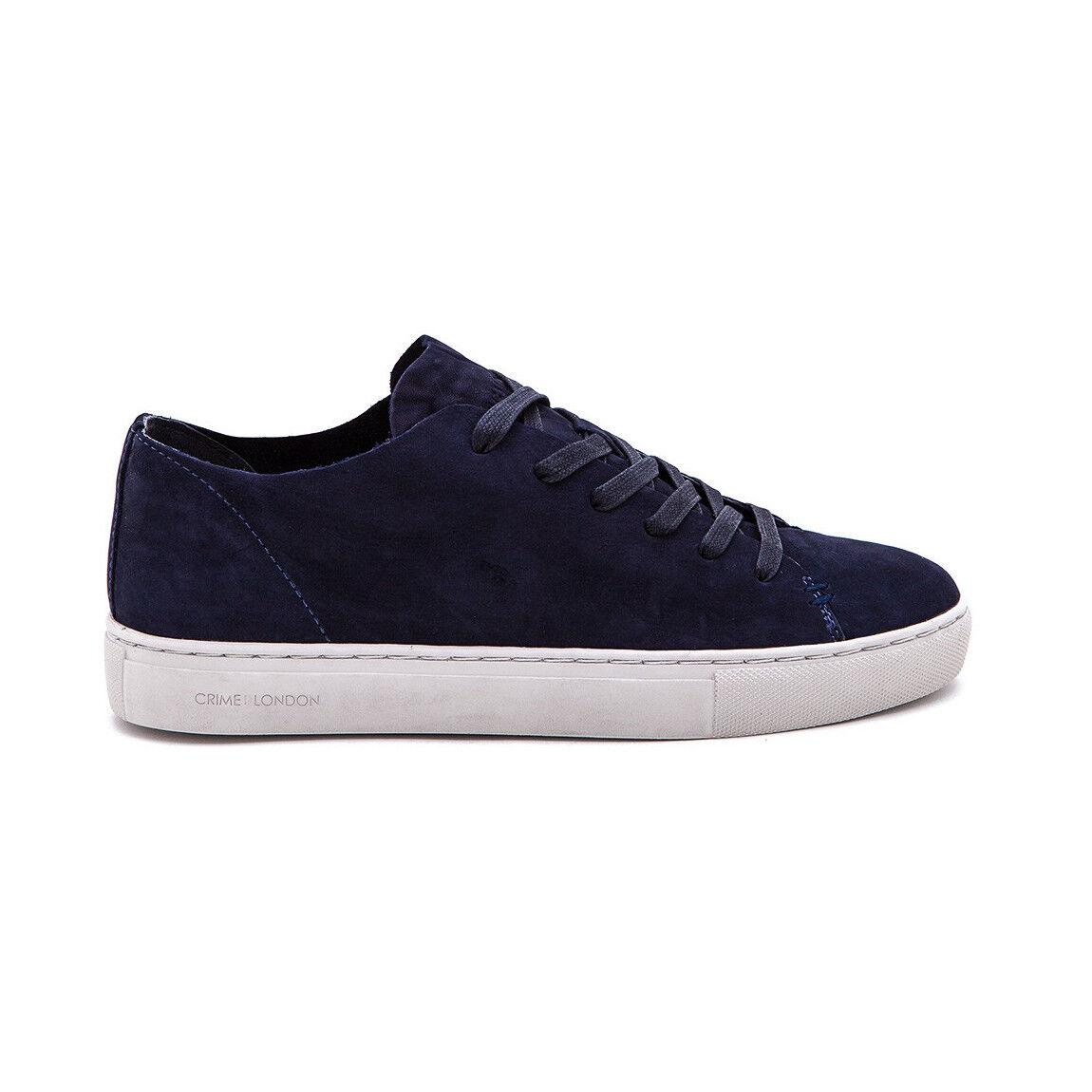 CRIME LONDON Herren Schuhe mod raw LO 11278KS1.40 blau mit