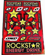 09 NEW ROCKSTAR Decal Sticker ATV Dirt Bike SUZUKI 9 DE22