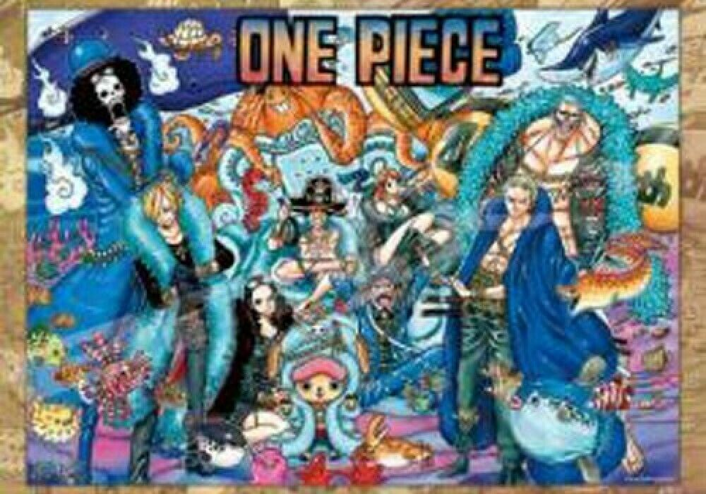 ENSKY JIGSAW PUZZLE One Piece 20th Anniversary 2000 pcs