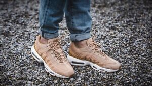 7e043f56559589 Nike Air Max 95 Premium SE  Snake Pack  Vachetta Tan Sizes 7-11 ...