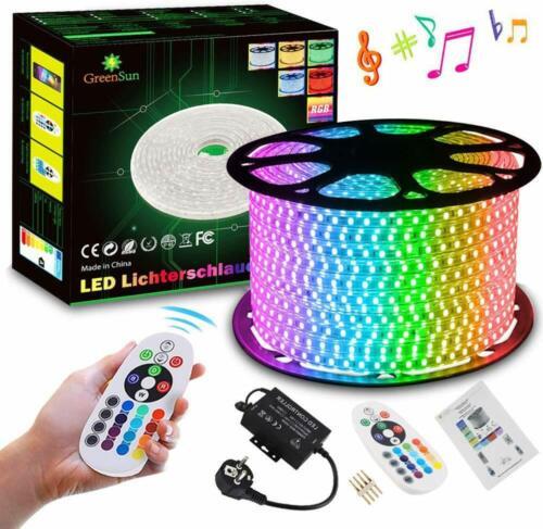 30M RF RGB LED Stripe 5050 SMD Leiste Streifen Band Licht Leuchte Lichterkette