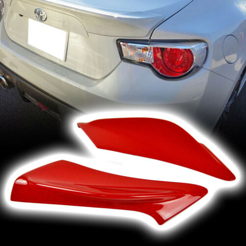 Trunk Side Spoiler Wing 2012-2018 Painted #C7P For TOYOTA GT86 SUBARU BRZ FR-S