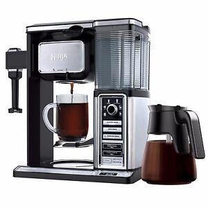 Ninja Coffee Bar Auto Iq Coffee Maker W/ Glass Carafe Reviews : Ninja CF092 Auto-IQ Coffee Maker Brewer Bar Glass Carafe System eBay