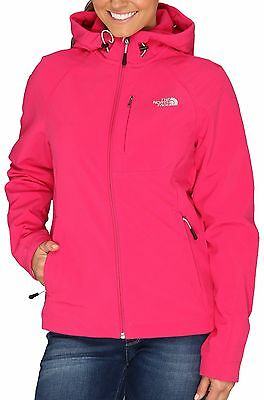 The North Face Apex Bionic Hoodie Hoody Jacket Womens Passion Pink S New $170