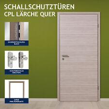 Wohnungseingangstür Weiss CPL 9010 Weißlack KK3 SK1 Rundkante Schallschutztür