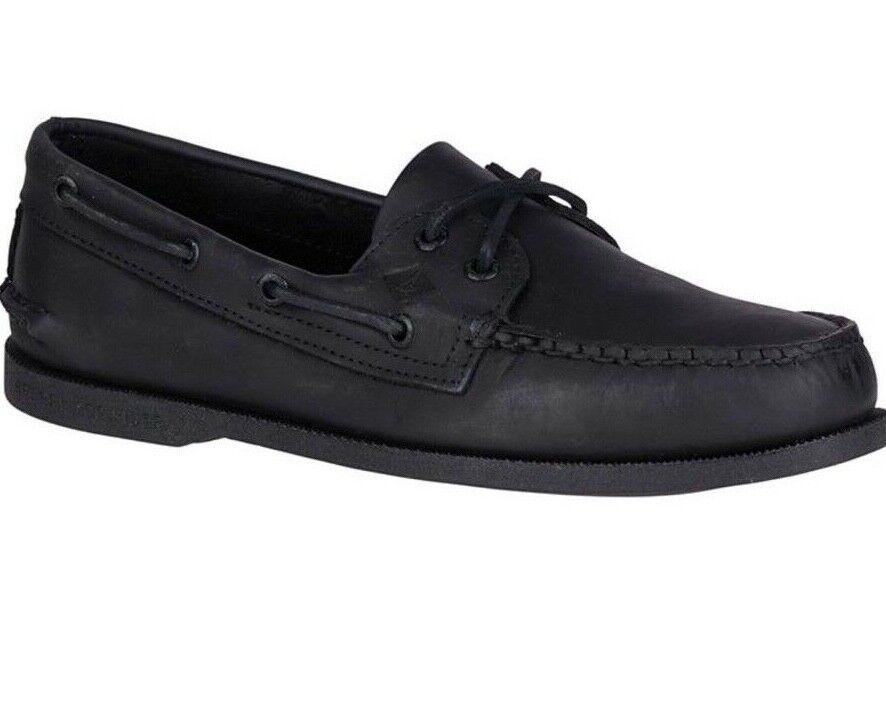 Sperry, hombre, zapatos de cuero originales.