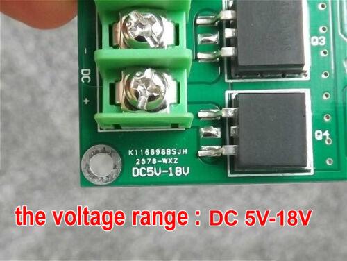 Motor Speed Controller PWM Module DC5-18V 15A Stepper Speed Control Board