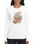 Gildan-Crewneck-Sweatshirt-Country-Flower-Shirt-Butterflies-Flowers-Butterfly thumbnail 1
