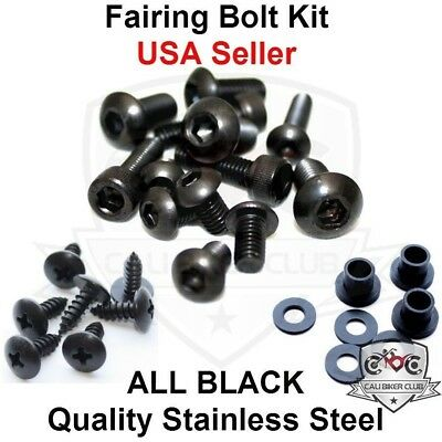 Fasteners Complete Motorcycle Fairing Bolt Kit For Kawasaki Ninja ZX-10R 2006-2007 Body Screws and Hardware