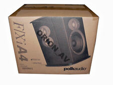 Polk Audio FXIA4 Bipole Dipole Black Surround Pair of Speakers FXI A4 Brand New