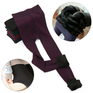 Chaud-Mince-Tricot-Velours-de-laine-Corset-Velours-epais-Pantalon