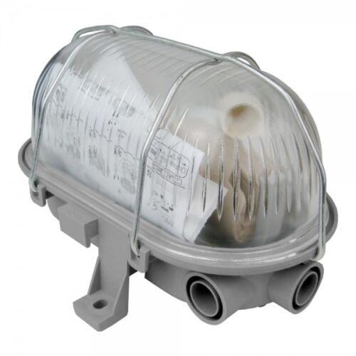 Ovale Cave Lampe éclairage Keller Navire robinet Max 60w e27 gris 121173