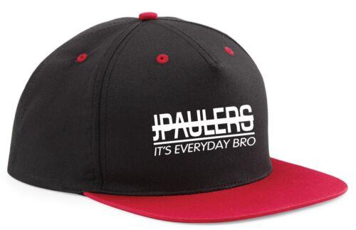 Snapback Cappello Berretto paulers logang Jake J Paul LOGAN JP 7 colori della squadra 10 ADJUSTABL