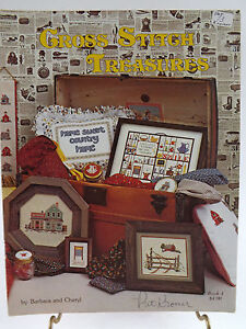 Cross-Stitch-Treasures-Cross-Stitch-Pattern-Booklet-1980-Country-Theme