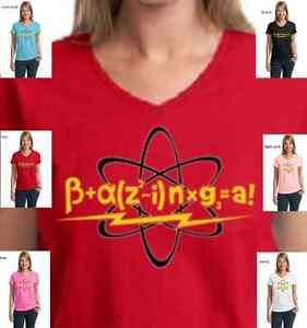funnn big bang theory bazinga equation sheldon cooper new womens