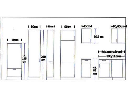 Hängeschrank MANKABOX Weiß BxH 60x56cm Mehrzweckschrank Oberschrank Küche
