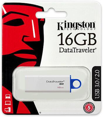 KINGSTON DT G4 16GB USB Stick 3.0 DataTravel G4
