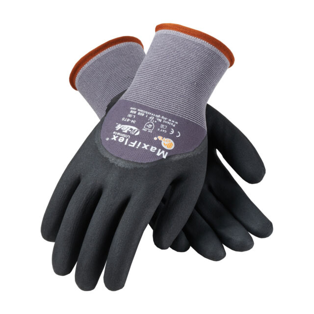 PIP MaxiFlex Ultimate Nitrile Micro Foam Coated Gloves Large 6 Pair 34 875 L for sale online