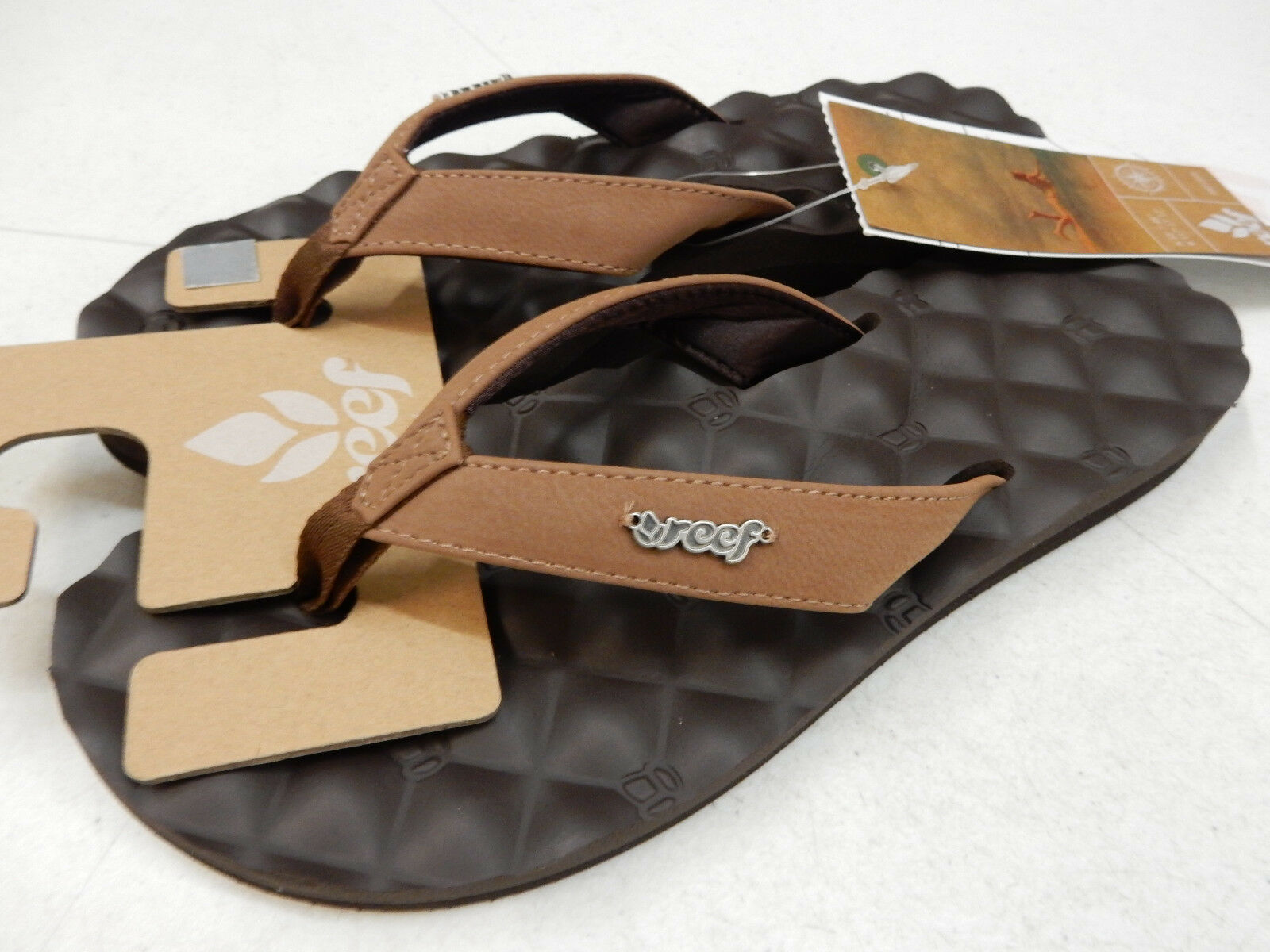 REEF WOMENS SANDALS DREAMS BROWN SIZE 5