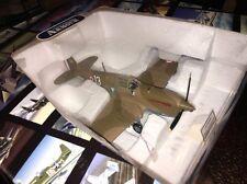 Boxed Franklin Mint Armour Diecast Airplane P-40 F5 Warhawk Madkot B11B626 1:48