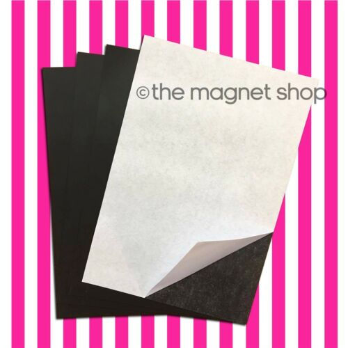 Self Adhesive Magnets PICK YOUR SHAPES AND SIZES Sticky Craft Magnetic Round