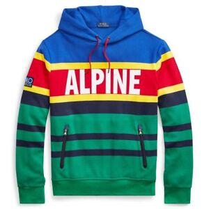 76862f276 Polo Ralph Lauren Hi Tech ALPINE Hoodie Sweatshirt Vintage Stadium92 ...