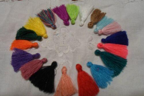 20 Mini Nappine  Cucito e gioielli  Colori  Misti  mm 30  circa  per bomboniere