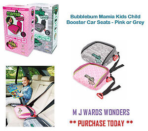 bubblebum mamia kinder kind sitzerh hung auto sitze pink. Black Bedroom Furniture Sets. Home Design Ideas