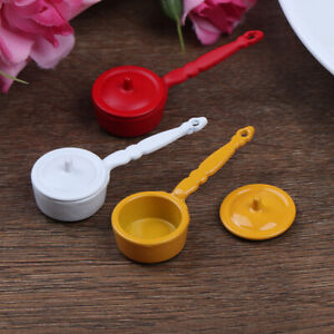 1-12-Dollhouse-Miniature-Metal-Cooking-Pot-Cookware-Doll-House-Accessor-Fw