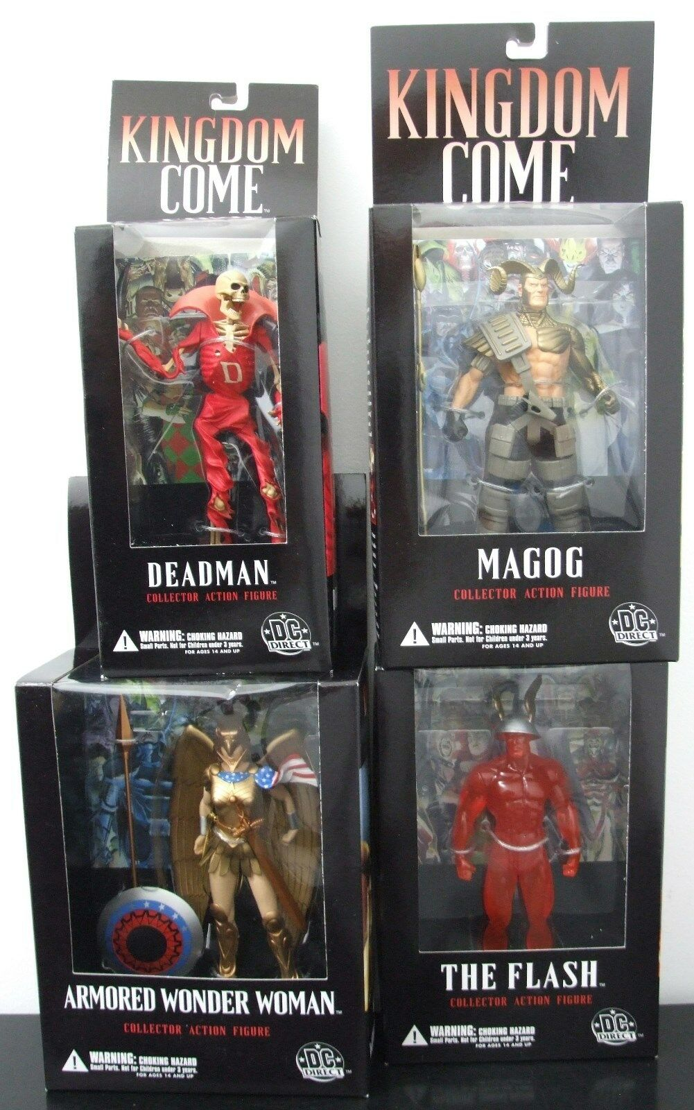 - direkte himmelreich welle 3 collector actionfiguren komplett x4 alex ross