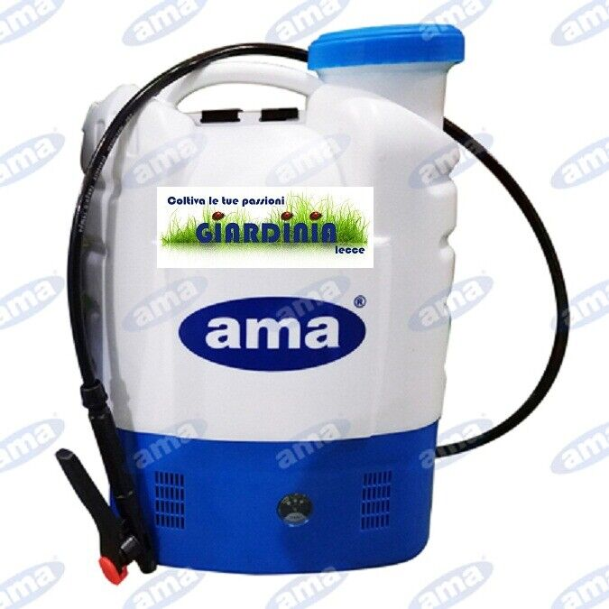 Pumpe bei Batteriebetrieb Ama 16 Lt Batterie 12V 8 Ah Lithium Art.93850