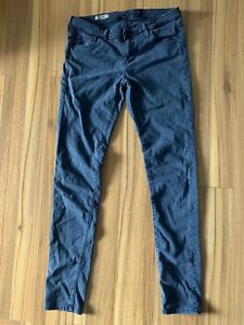 AG-Adriano-Goldschmied-Size-30-Jeans-Legging-Super-Skinny-Stretch-Gray