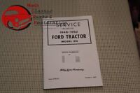 48 49 50 51 52 Ford Tractor 8n Shop Service Manual