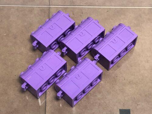 LEGO Parts QTY 5 Medium Lavender Container // Treasure Chest No 4738