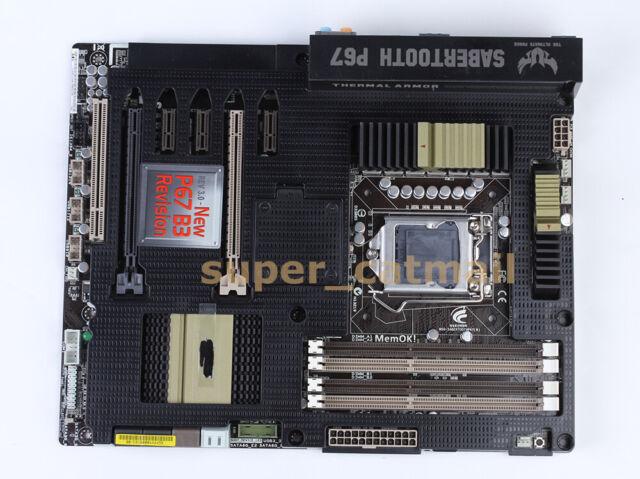 ASUS SABERTOOTH P67 LGA 1155 Socket H2 Intel P67 Motherboard ATX DDR3 USB 3.0