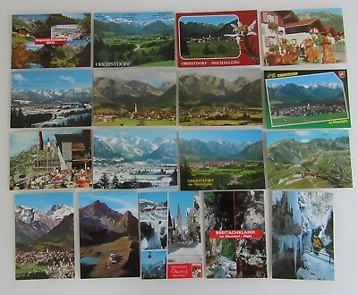 Postkarten Lot Bayern Oberstdorf Im AllgÄu 17 X Ak Ungelaufen Ab/nach ~1970 Grade Produkte Nach QualitäT