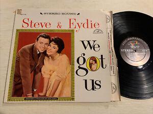 Eydie Gorme & Steve Lawrence We Got Us LP ABC Paramount Stereo DG VG